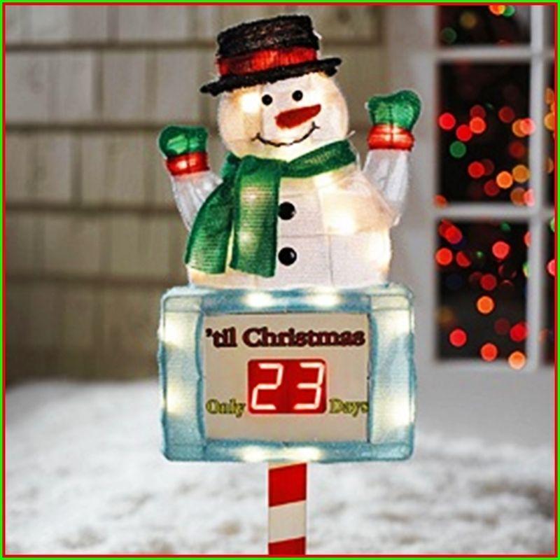 Bonanza Find Everything But The Ordinary Christmas Clock Christmas Countdown Christmas Yard Art