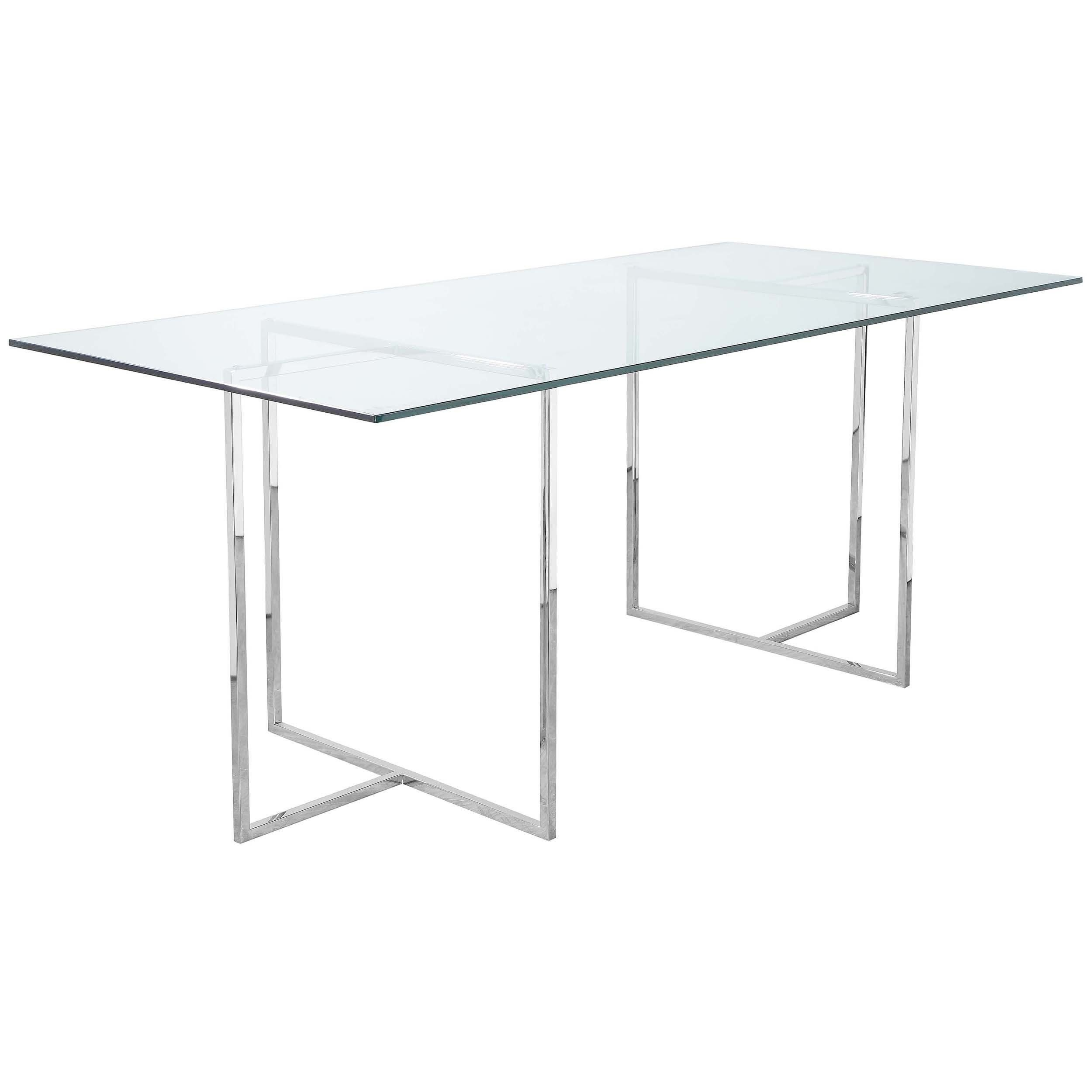 Adonis Dining Table Clear Dining Table Table Dining