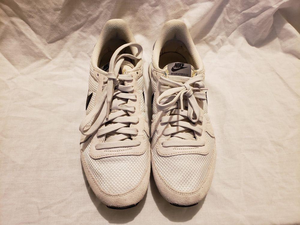 Nike Internationalist 629684-017 Women's Cream Sneaker Size US 8.5 ...