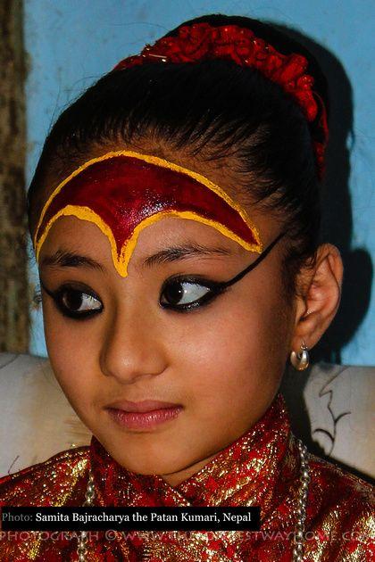 Samita Bajracharya the little girl who became a Kumari living