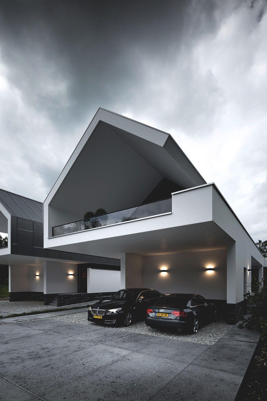 Carport, glazen balustrade   Eigen huis   Pinterest   Luxury decor ...