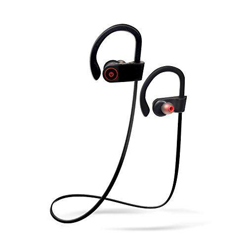 TecHERE SoundPlugs - Auricolari Bluetooth 4.1 Stereo con microfono incorporato e resistenti al sudore - Cuffie wireless senza fili ideali per lo sport, la corsa e con 8 ore di autonomia - HIFI Super Bass system - Compatibili con iPhone 6 6s 6 plus, iPad, Samsung S6 S5 S4 S3 ed altri smartphone / tablet Android - Nero TecHERE http://www.amazon.it/dp/B01BL09WPG/ref=cm_sw_r_pi_dp_zCKXwb0MX91SZ