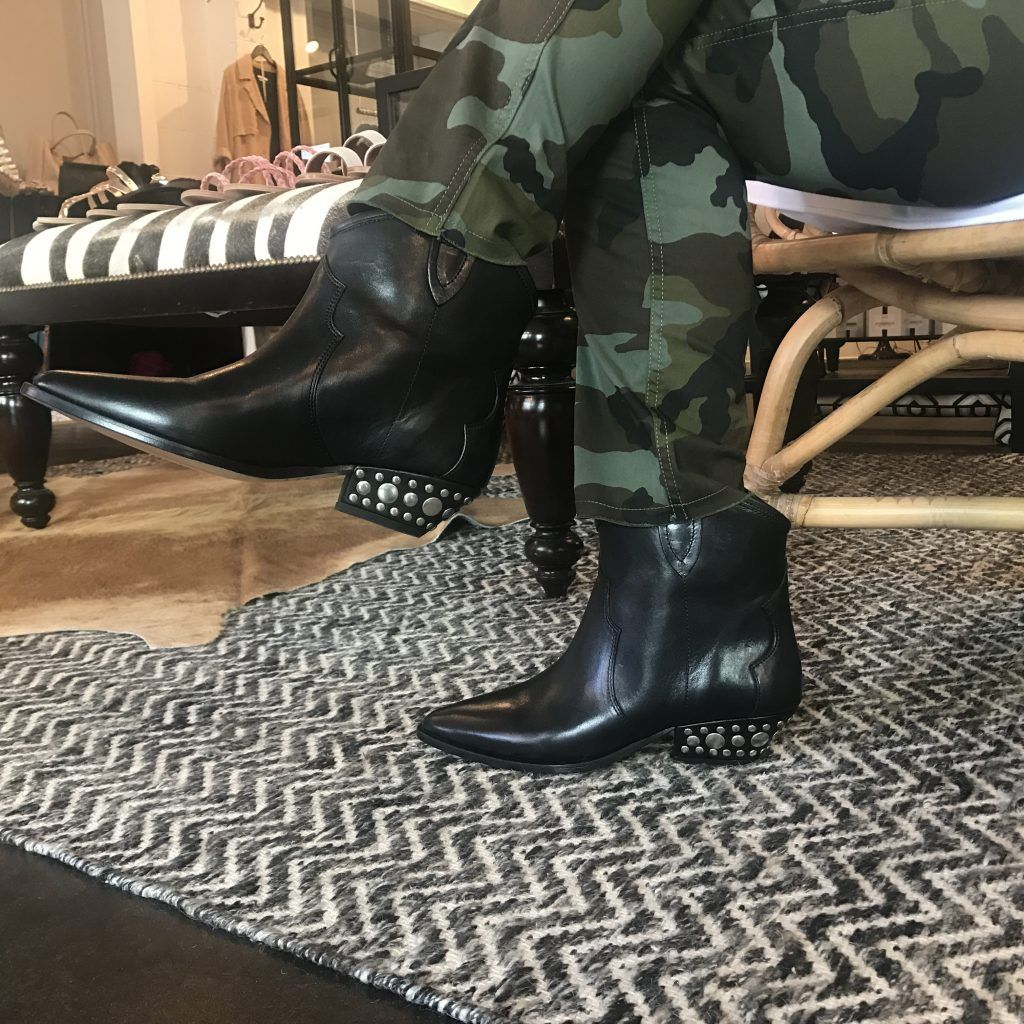 cb4fe2b2def Rocker Chic These Isabel Marant Dawyna Boots pair so naturally with ...