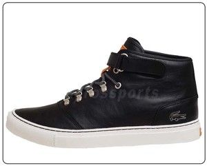 cb35961c7cf198 Lacoste Cerberus STEPS SRM Black Leather Lux Shoes 720SRM3261024 ...