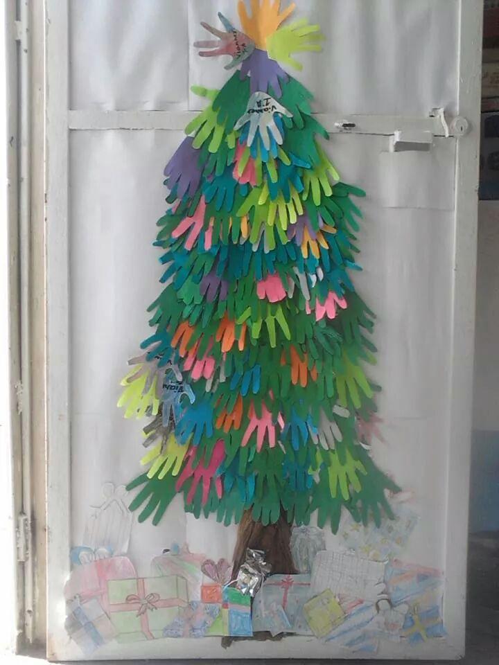 Arboles de navidad manualidades iv 8 navidad for Mural sobre o natal