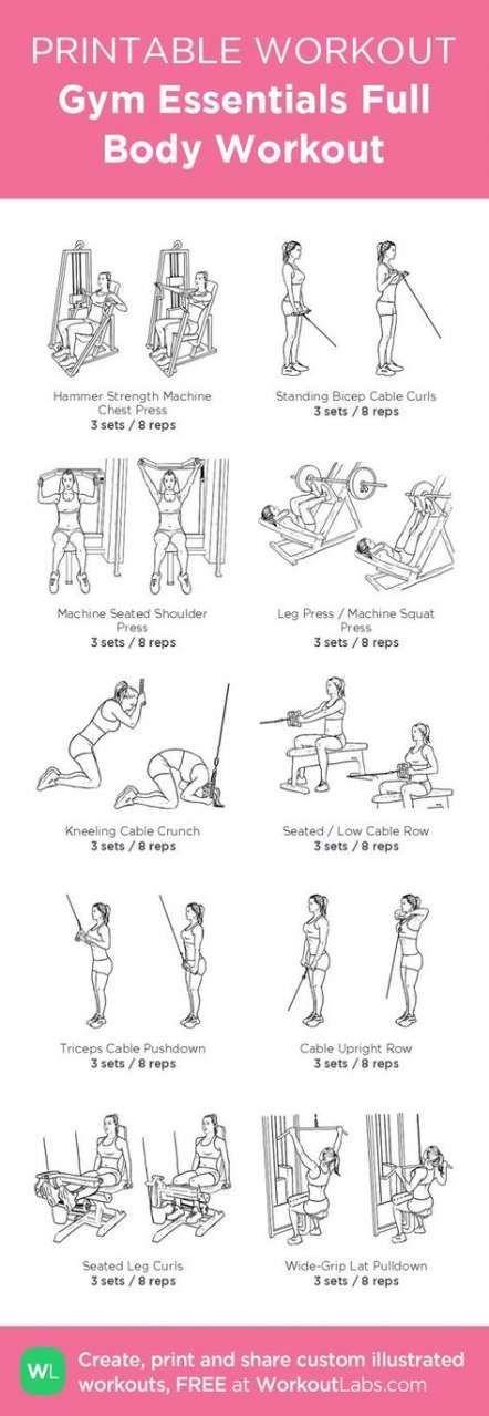 51 Ideas fitness workouts plans full body -  51 Ideas fitness workouts plans full body #fitness  - #...