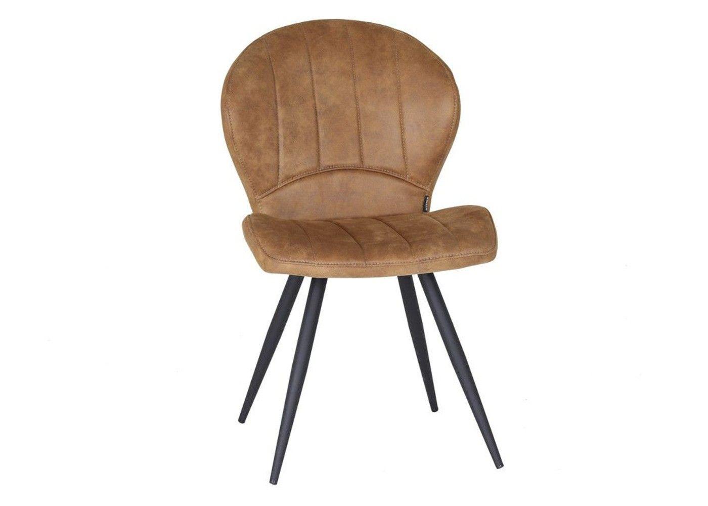 Chaise Magic Coloris Cognac Les Meubles Mailleux