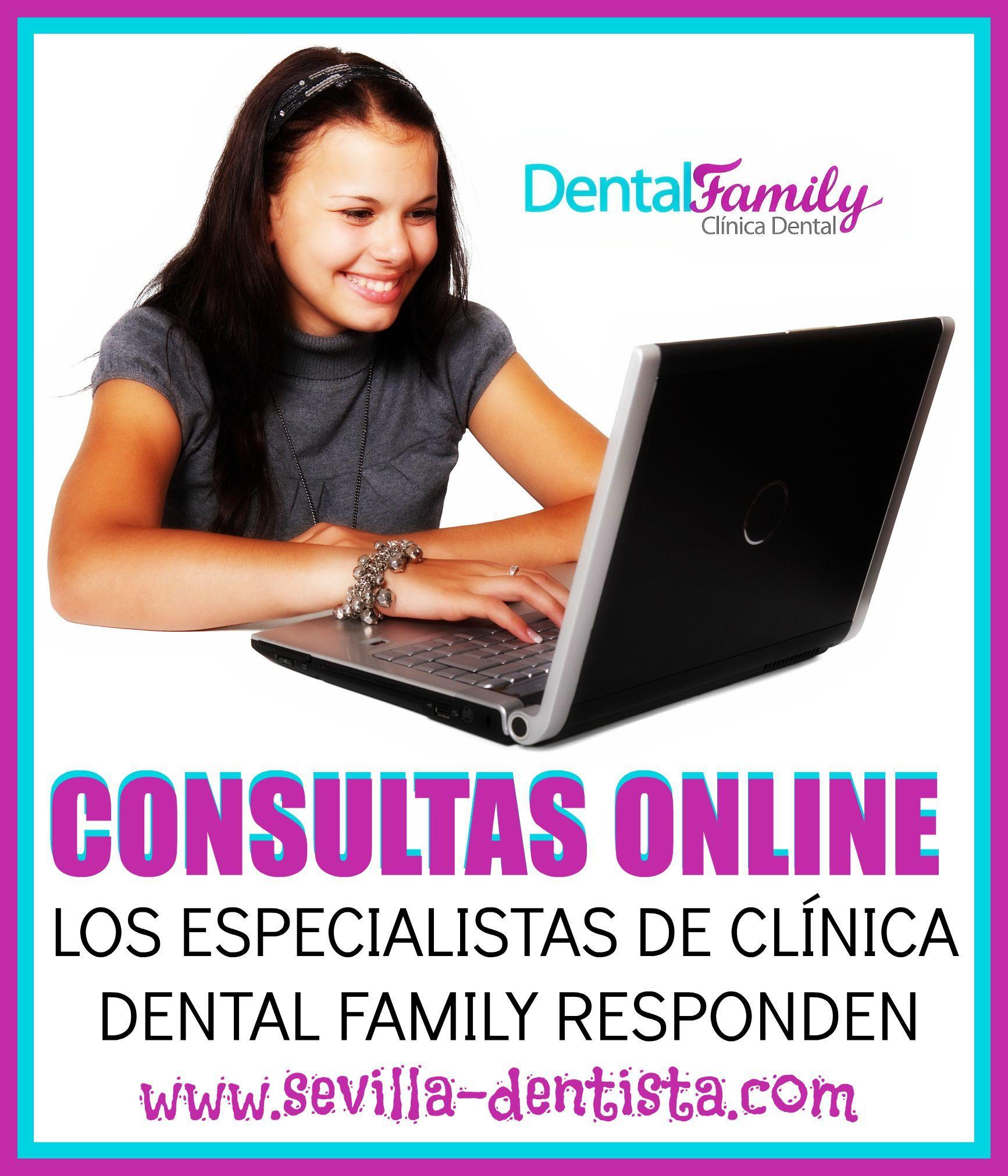 En Clínica Dental Family nos preocupamos por atender personalmente cada una de las dudas que puedan tener nuestros clientes. Puede contarnos su caso rellenando el cuestionario, realizando su consulta vía Skype, por teléfono o por e-mail en http://www.sevilla-dentista.com/consulta-online-dentista.html #FelizLunes #Dentista #Dentistas #ConsultaDentista #DentistaSevilla #Odontología #Sevilla #SaludDental #HigieneBucal #SaludBucodental #Ortodoncia #BlanqueamientoDental #ImplanteDental