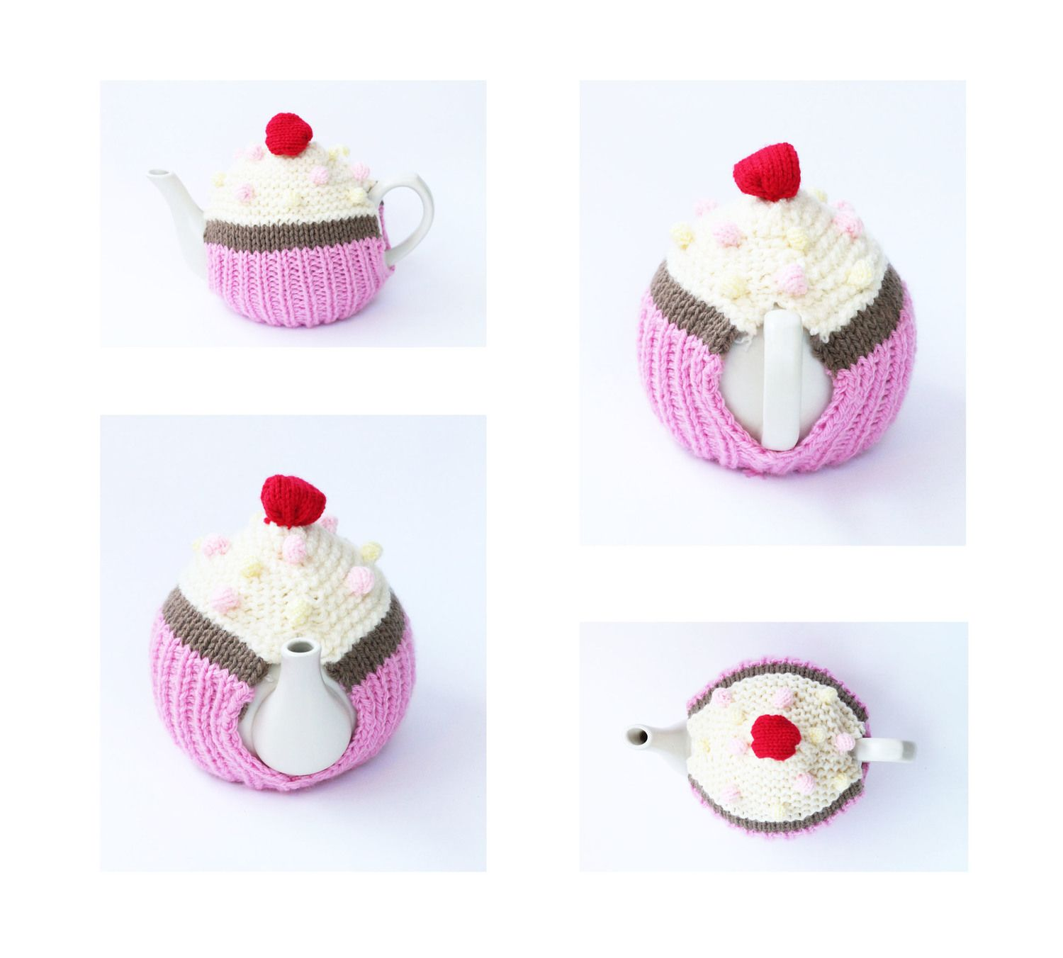 Knitted-cupcake-tea-cosy-knitting-pattern | Crafts | Pinterest ...