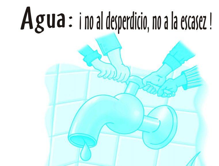 Agua No Al Desperdicio No A La Escasez Cuidado Del Agua Quimica Agua