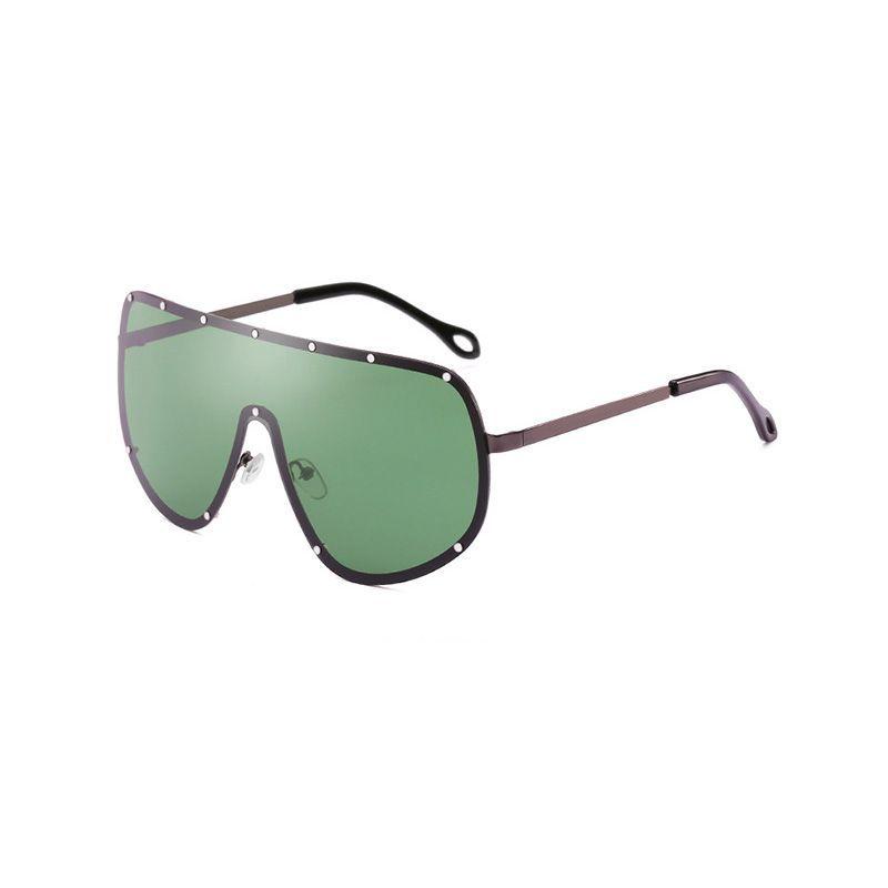 e42662bf096 NoEnName Null 2018 New Fashion Designer Oversized Pilot Sunglasses Women Men  Aviation Metal Frame Mirror JY66153-