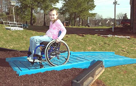 ADA Playground Ramps for Playgrounds