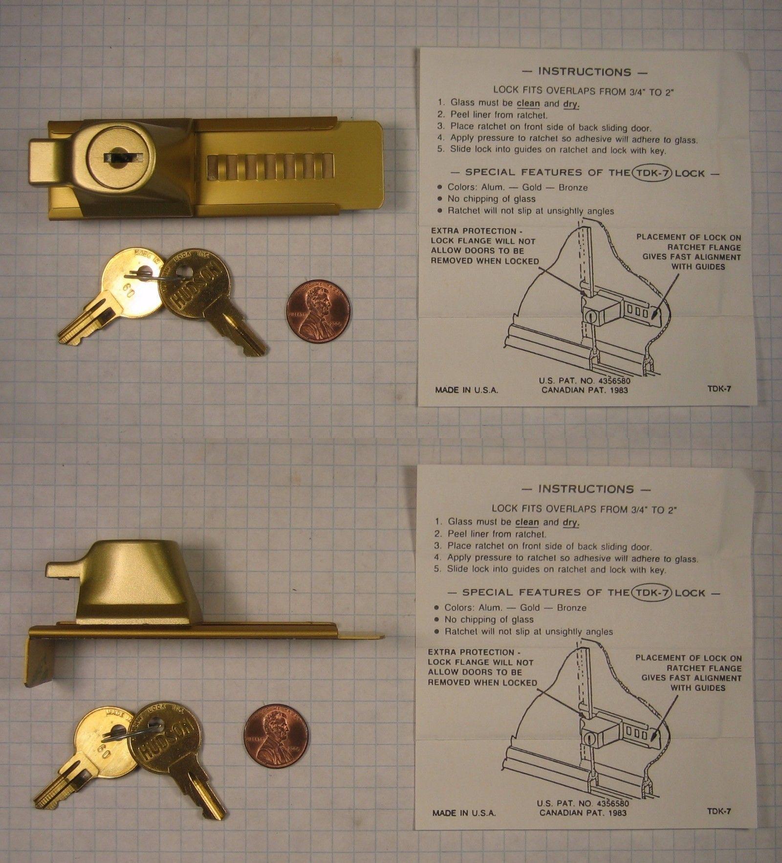Cabinet And Drawer Locks 180961 Baker Tdk 7 Gold Key 60 Bi Passing