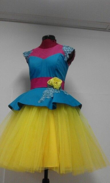 Sepedi Short Tutu Traditional Dress By Mx Creations Mx