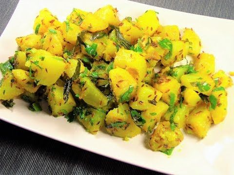 Jeera Aloo | Quick Potato dry recipe without Onion and Garlic |Restauran...