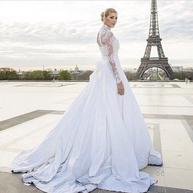 Funky Wedding Gowns: Great Bridal Style! Very Princess-like