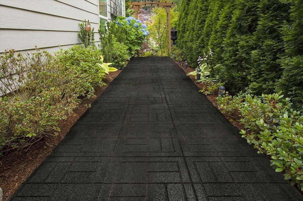 rubber patio pavers
