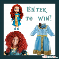 Disney Pixar Merida Toddler Prize Pack BRAVE Giveaway - Enter to win prizes based on the new animated movie in theatres 6/22/12