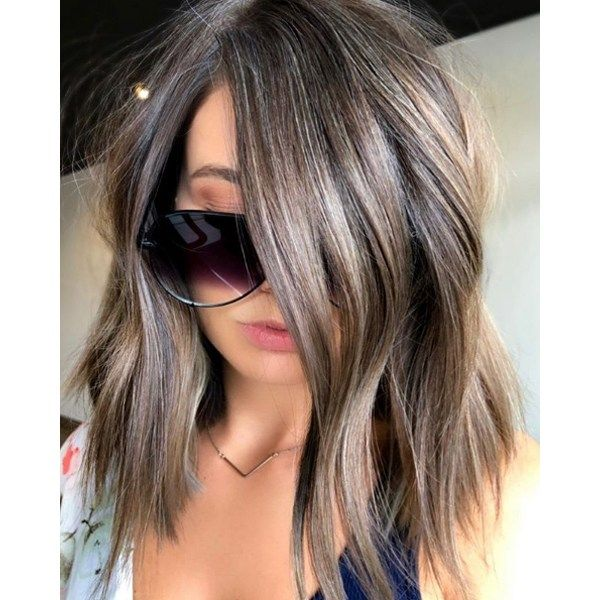 Get the formula and steps for this cool ashy brune