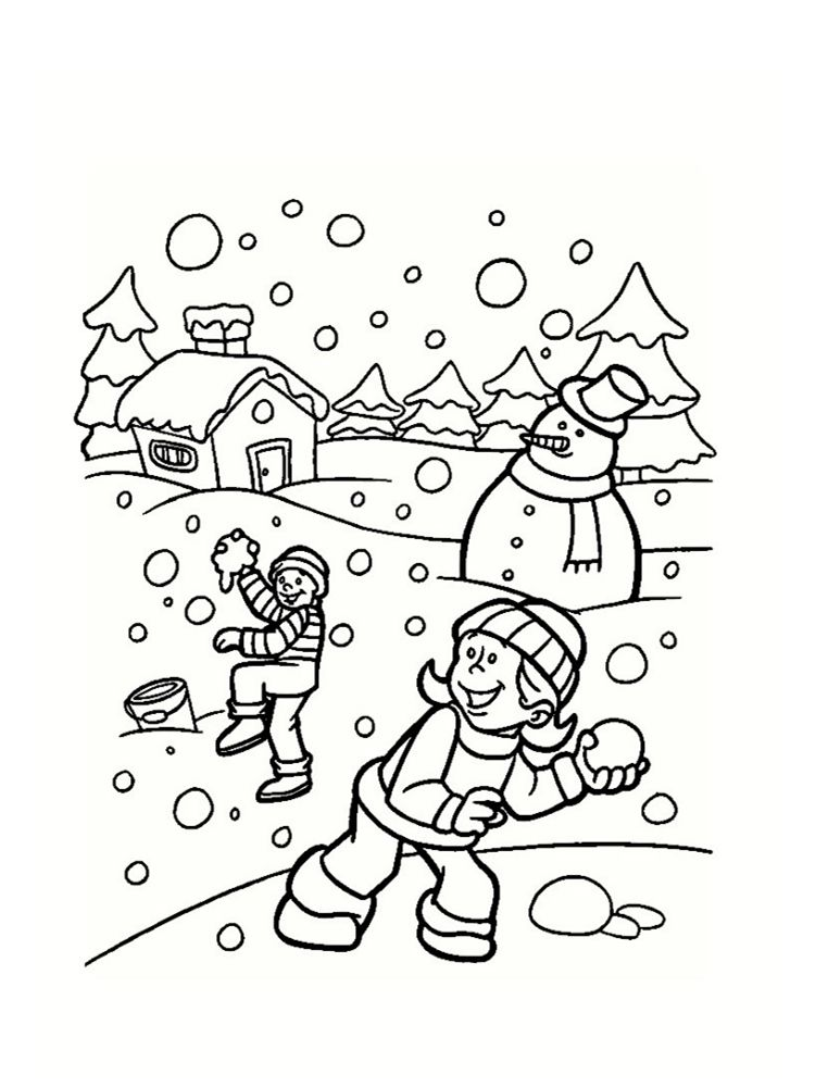 Pin By Margie Barnes Miller On Coloring Pages Pinterest Winter