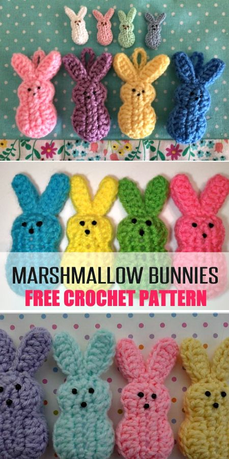 Free Easter Crochet Patterns The Best Collection | The WHOot