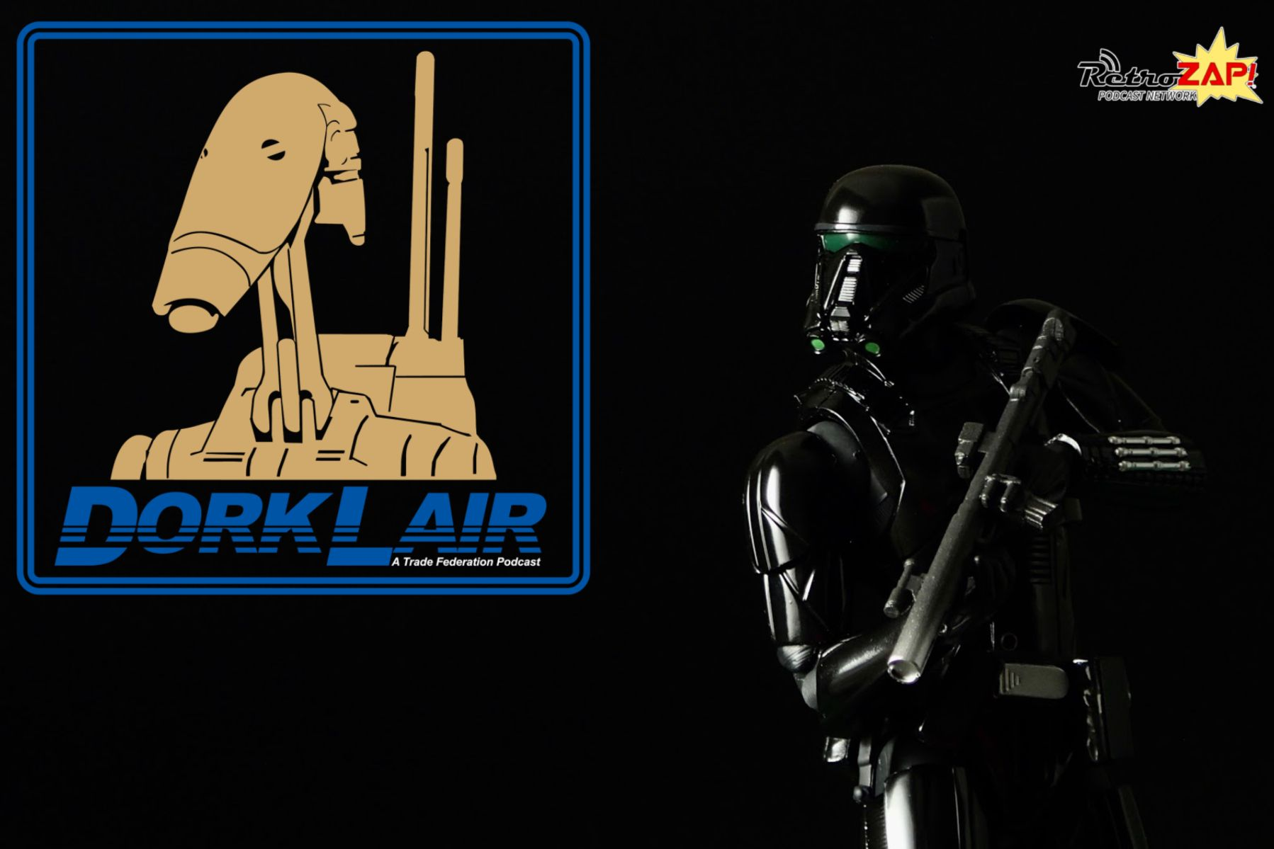 DorkLair #3: Death Trooper (SH Figuarts Death Trooper)