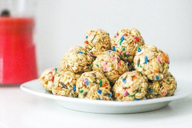 Funfetti Granola Bites