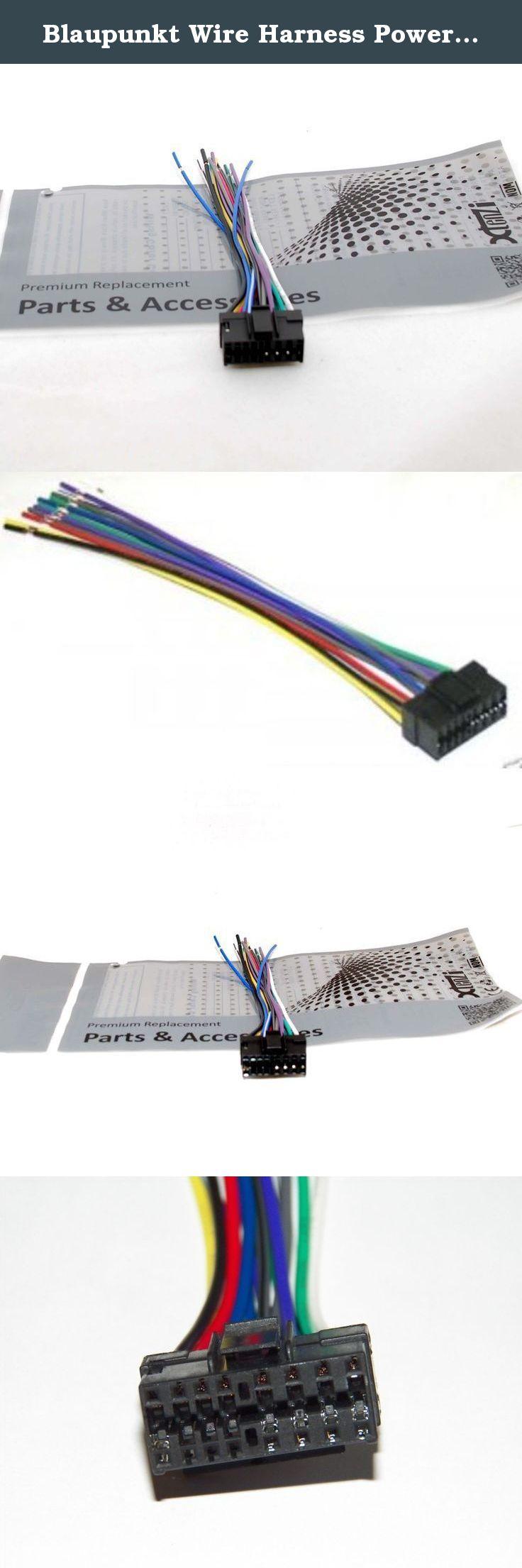 blaupunkt wire harness power plug cd mp3 dvd car stereo head unit 16 pin  [ 736 x 2210 Pixel ]