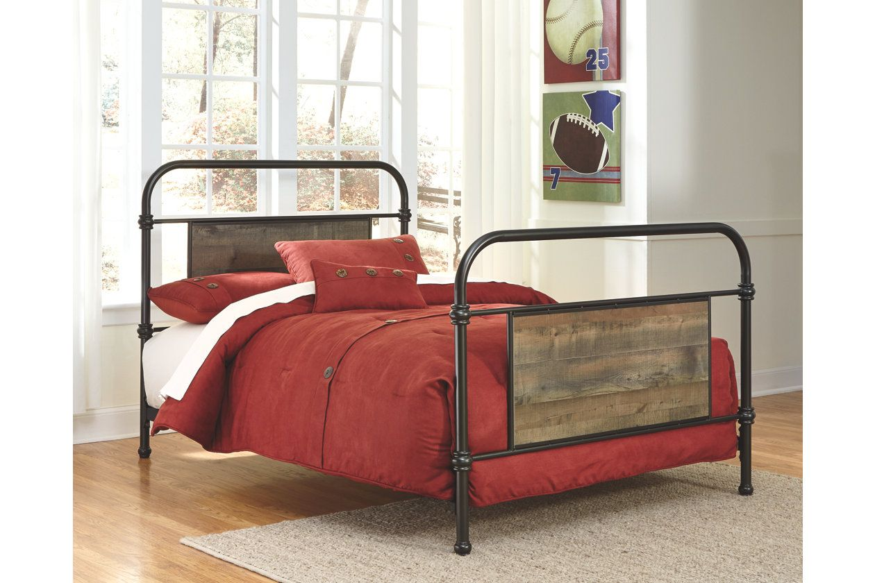 Trinell Full Metal Bed Ashley Furniture Homestore Metal Beds