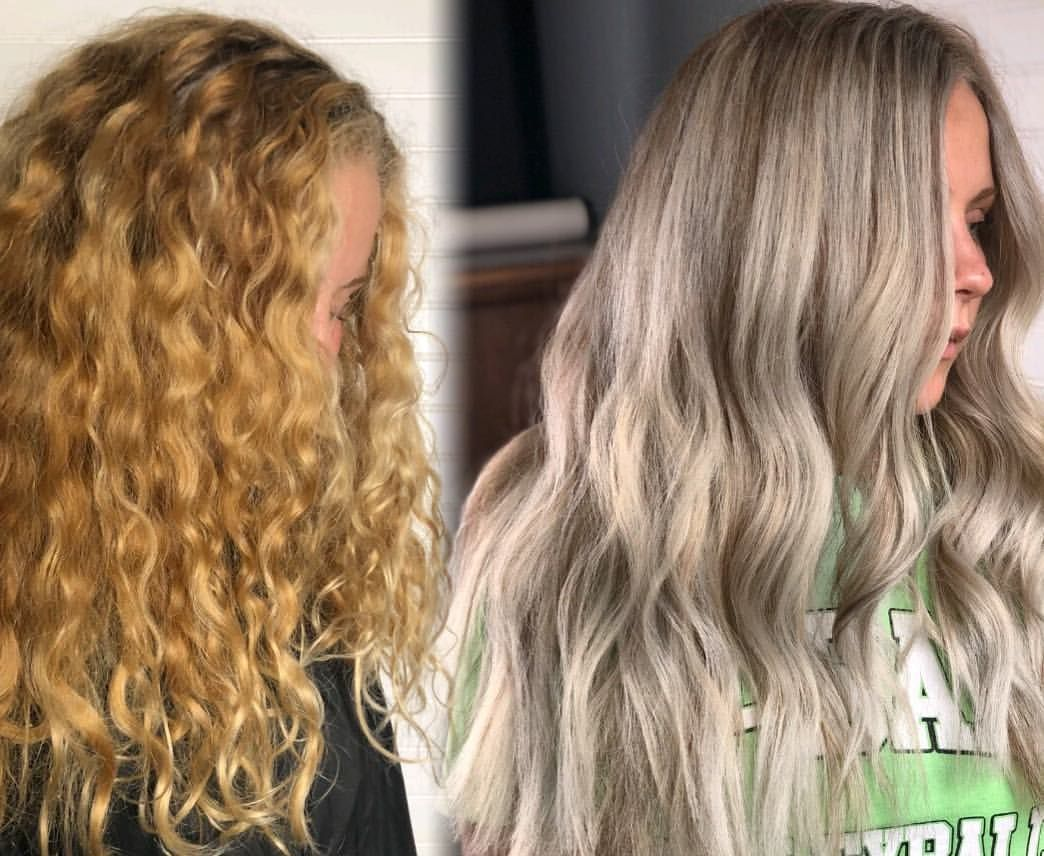 Before And After Blonde Rescue From Box Dye To Salon Color Ashy Blonde Blonde Highlights Blonde Balayag Blonde Box Dye Blonde Highlights Blonde Balayage