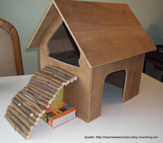 meerschweinhaus eigenbau mit zwei etagen moehschweinchenfarm pinterest meerschweinchen. Black Bedroom Furniture Sets. Home Design Ideas