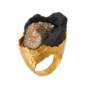 On-the-Rock modern ring