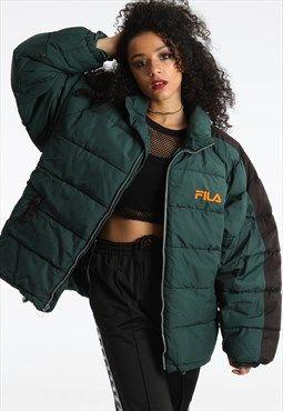 1c6436371681 90s Fila Oversized Padded Jacket