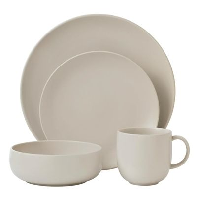 Mode Dinnerware Collection by Royal Doulton - Casual - Dinnerware - Tabletop  sc 1 st  Pinterest & Do you like this Royal Doulton Mode Putty 8 Person Dinner Set ...