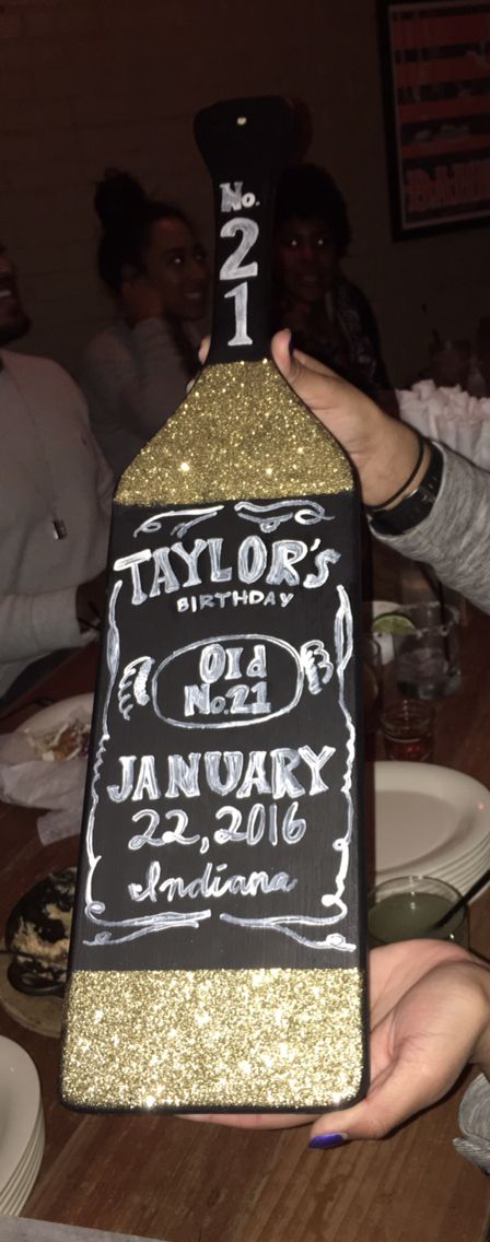 Birthday bottle