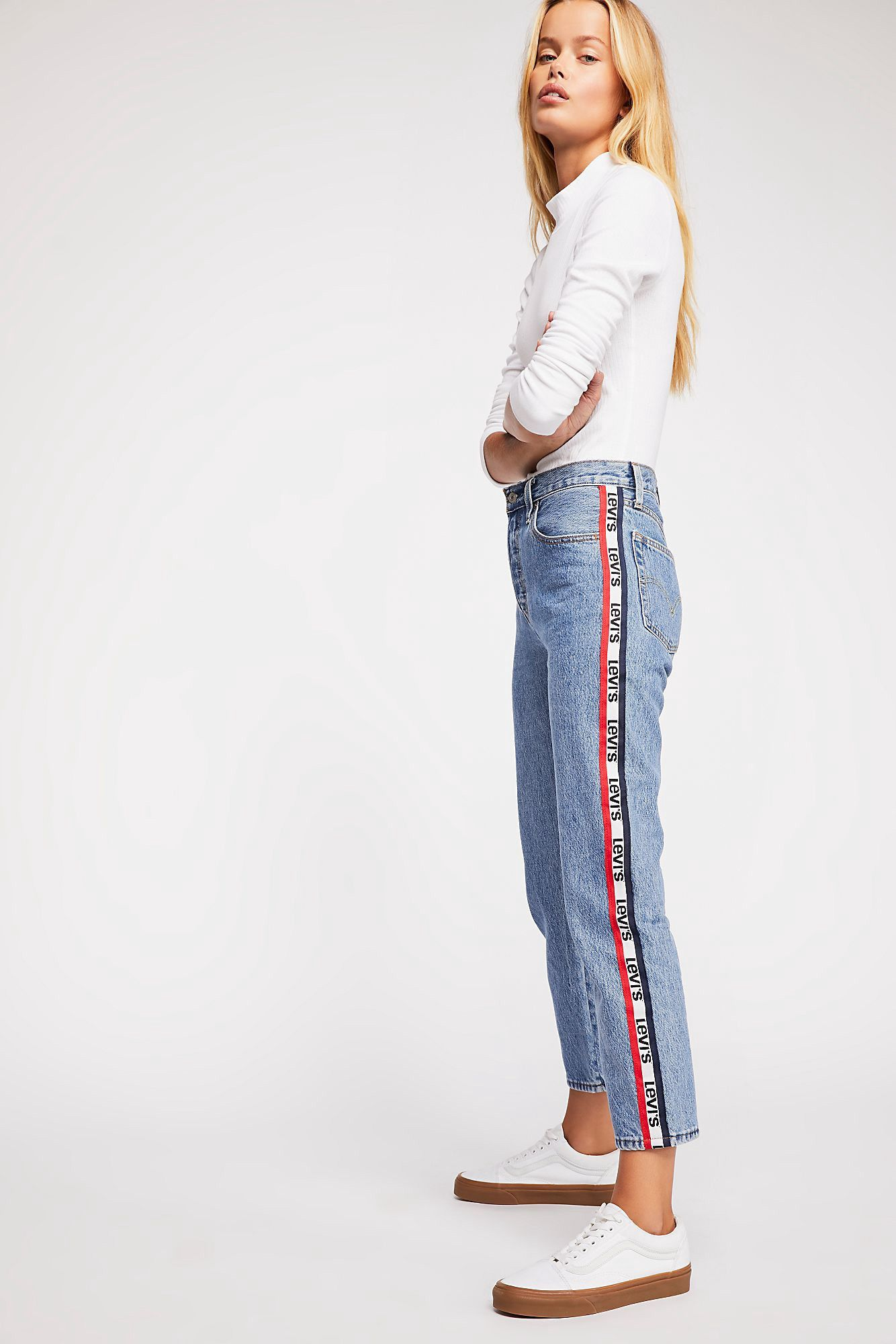 0169343b Free People Levi's 501 Crop Jeans - Bonafide 25   Products   Cropped ...