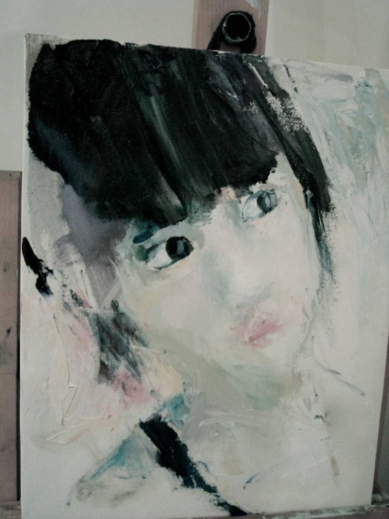 "Saatchi Art Artist Aleksey Kozyr; Painting, ""portrait"" #art"