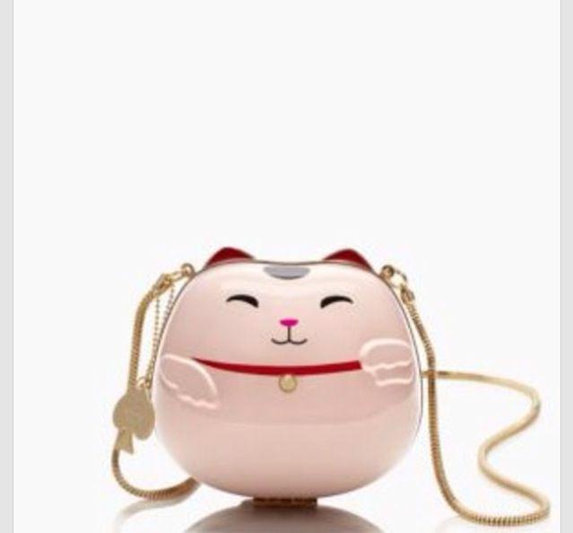 452e26bf2 Kate spade hello tokyo cat purse | Handbags,totes,clutches | Cat ...