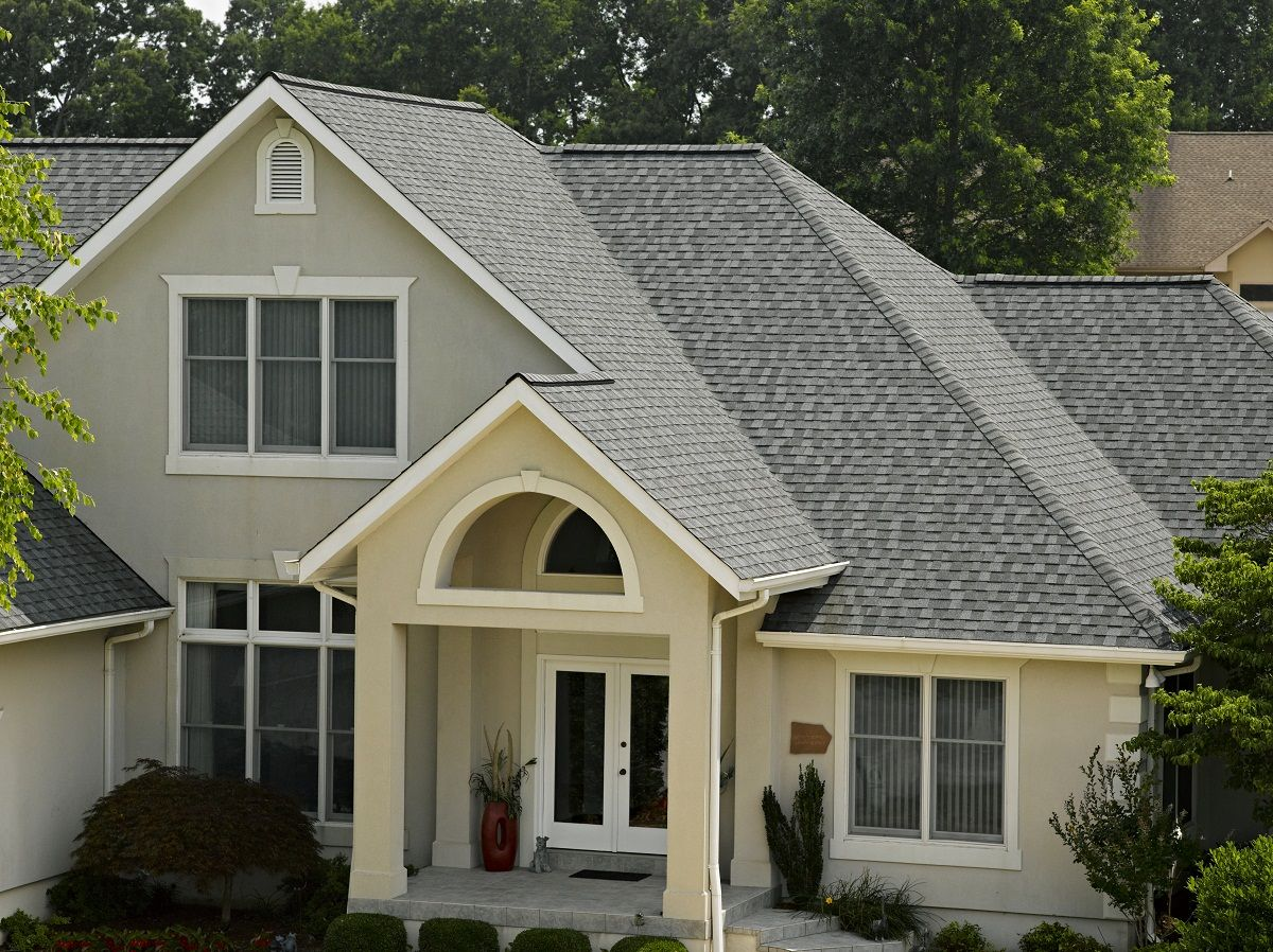 Certainteed Landmark In Pewter Designer Shingles