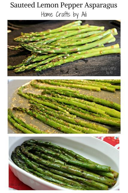 Photo of Sauteed Lemon Pepper Asparagus