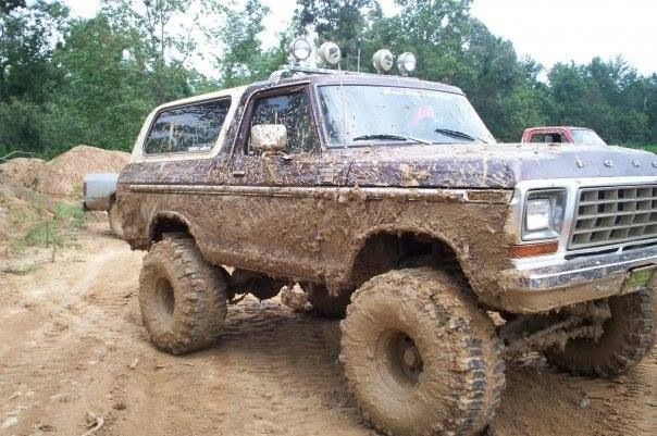 Lifted Muddy Bronco Bronco New Bronco Ford Truck Models
