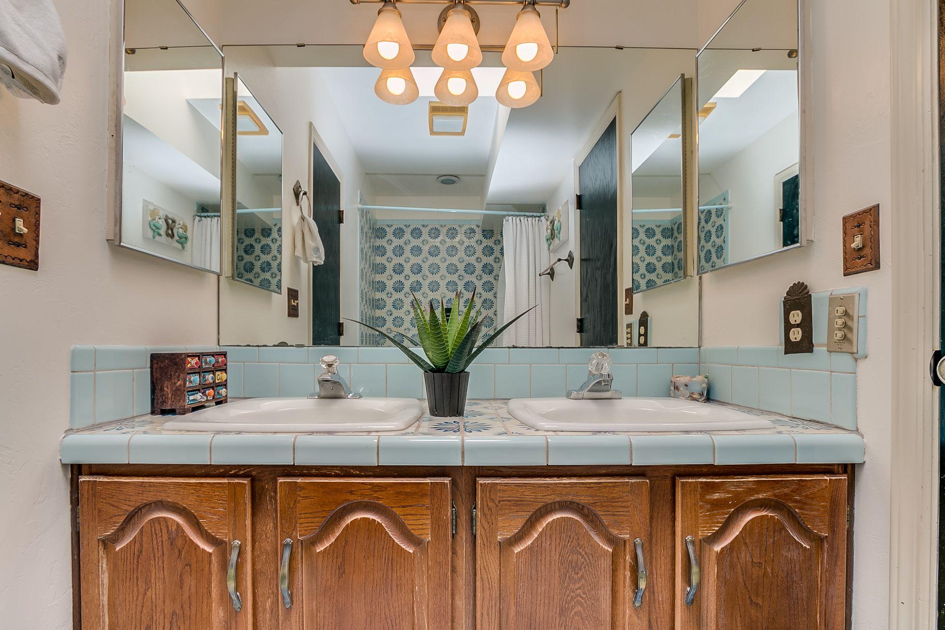 Tucson living! | Vanity, Double vanity, Bathroom vanity