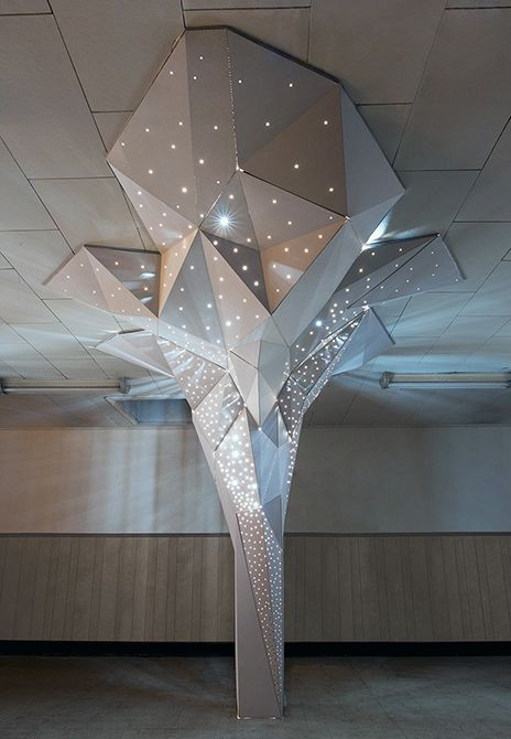 Scad digital fabrication club architektur pavillon und for Innenraumdesign studium