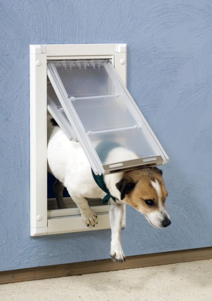 Endura Flap Dog Door For Walls Double Flap Version Dog Door Pet Doors Wall Pet Door