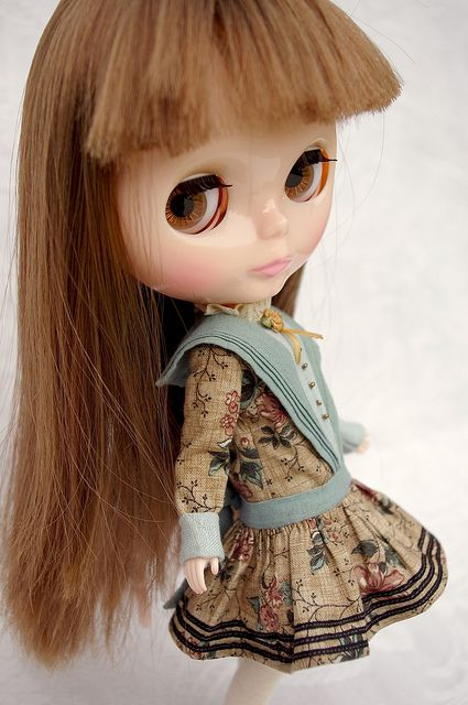 """La Farandole""   Blythe clothes for dolls : tutorial : Kikihalb ♧ Forest~Tales ♧"