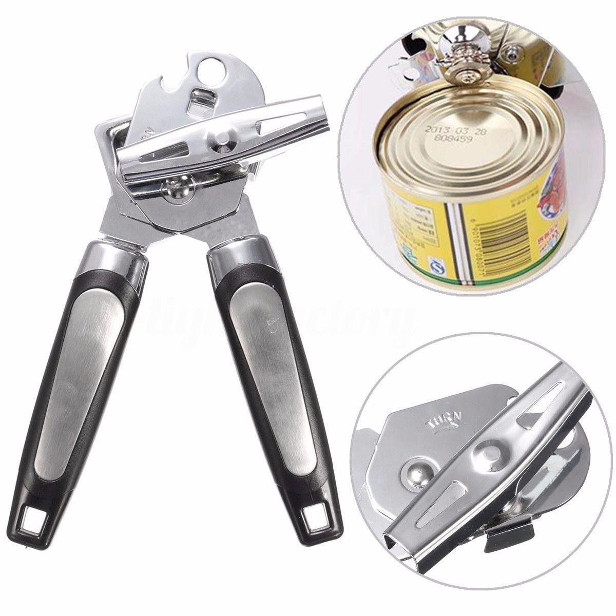 Heavy Duty Craft Restaurant Tool Lid Open Tin Opener Bottle Opener Can Opener