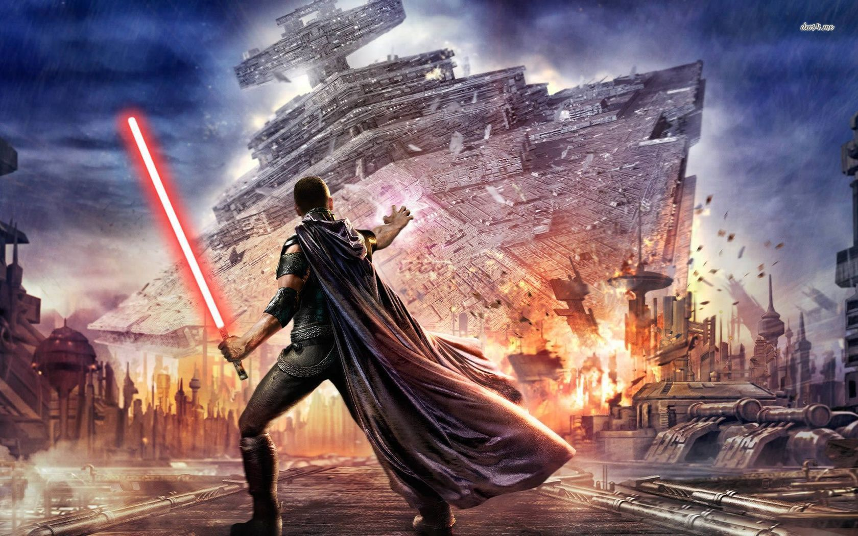 Star Wars The Force Unleashed HD Desktop Wallpaper Widescreen
