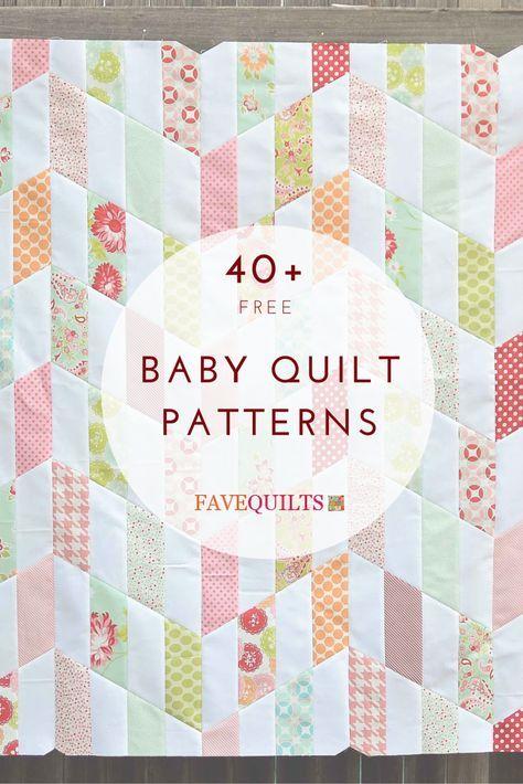 40 Free Baby Quilt Patterns Free Baby Quilt Patterns Baby Quilt