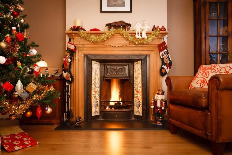 Christmas Outdoor Lights  Decorations Ideas Fireplace ideas for