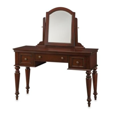 home styles lafayette vanity table in cherry bedbathandbeyond com rh pinterest ca